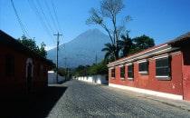 Antigua-Vulkan, Guatemala