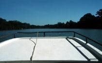 Bootsfahrt nach Ceibal, Guatemala