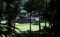Tempel in Ceibal, Guatemala