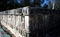 Tzompantli in Chichén Itzá