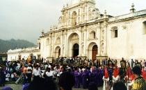 Ostern in Antigua, Guatemala