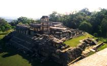"""""""Palace"""", Palenque, Chiapas, Mexico"""