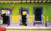 Fassade in Sán Cristóbal de las Casas