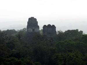 Tikal-Tempel-4-Blick, Guatemala
