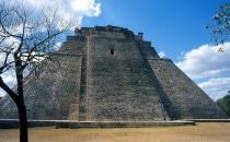 Der Tempel des Zauberers - Uxmal, Mexiko
