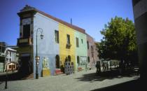 "Straße ""Caminito"" im Viertel La Boca in Buenos Aires"
