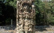 Copan-Stele-B, Honduras
