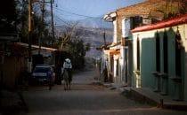 Reiter in Gracias, Honduras