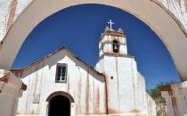 Kirche in San Pedro de Atacama, Chile