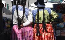 La Paz Frauen, Bolivien