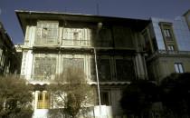 La-Paz-Hausfassade, Bolivien