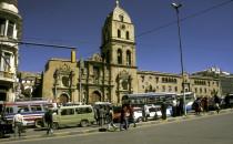 La-Paz-San-Francisco, Bolivien