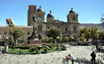 La Paz San Francisco, Bolivien