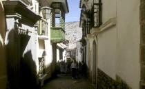 La-Paz-calle-Jaen, Bolivien