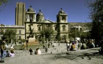 Plaza Murillo - La Paz, Bolivien