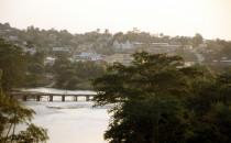 Blick auf San Ignacio, Belize
