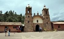 San Pedro de Cacha beim Raqchi Tempel, Peru
