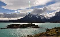 Lago Pehoé Torres del Paine, Chile