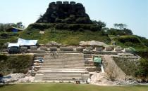 Haupttempel von Xunantunich, Belize