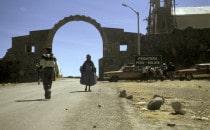 border Bolivia - Peru