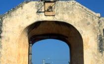 Stadttor Puerta de Mar in Campeche, Mexiko