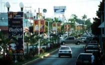 Hauptstraße von Chetumal, Mexiko