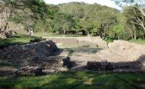 ballcourt at Toniná, Chiapas, Mexico
