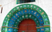 Kirche in San Juan Chamula, bei San Cristóbal de las Casas, Mexiko