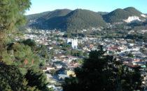 Blick vom Cerrito San Cristóbal, San Cristóbal de las Casas, Mexiko