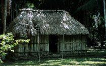 Mayahütte in Kohunlich