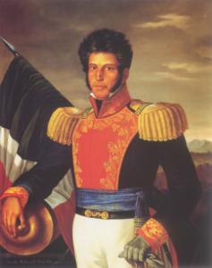 Vicente Guerrero, By Anacleto Escutia (fl. 1850) [Public domain], via Wikimedia Commons