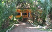 Entrance Flycatcher Inn, Santa Elena, Yucatán, Mexico