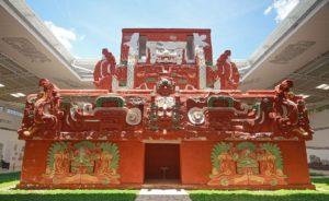 Nachbildung des Rosalilatempels im Museum von Copán