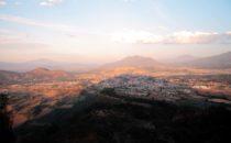 Blick vom Mirador El Estribo, Pátzcuaro, Mexiko