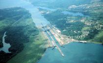 Die Gatúnschleusen des Panamakanals