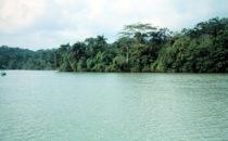 Einfahrt zum Gatúnsee, Panamakanal