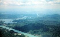 Panamakanal von oben