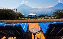 Hotel Atitlán - Blick