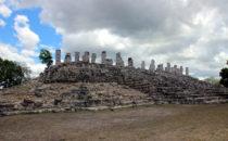 Säulenpalast in Aké bei Mérida, Mexiko ©Marko Leib