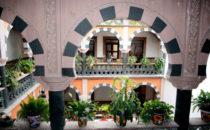 Casa Tsaya Colonial, patio