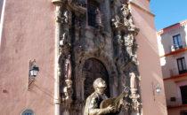 Templo de San Diego de Alcalá, Guanajuato, Mexiko