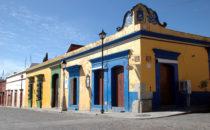 Oaxaca typische Straßenecke