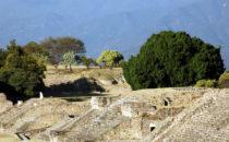 Monte Albán - Blick, Mexiko