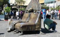 Skulpturen von Alejandro Colunga, Guadalajara, Mexiko