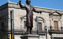 Statue von Hidalgo, Guadalajara, Mexiko