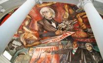 Mural Orozco im Palacio de Gobiernol, Guadalajara, Mexiko