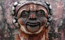 Santa Rosa de Viterbo Detail, Querétaro, Mexiko