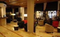 Hotel Catedral Lobby, Mexico City