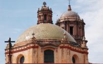 Kuppel der Kathedrale, Querétaro, Mexiko