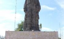 Monumentalstatue des Benito Juárez